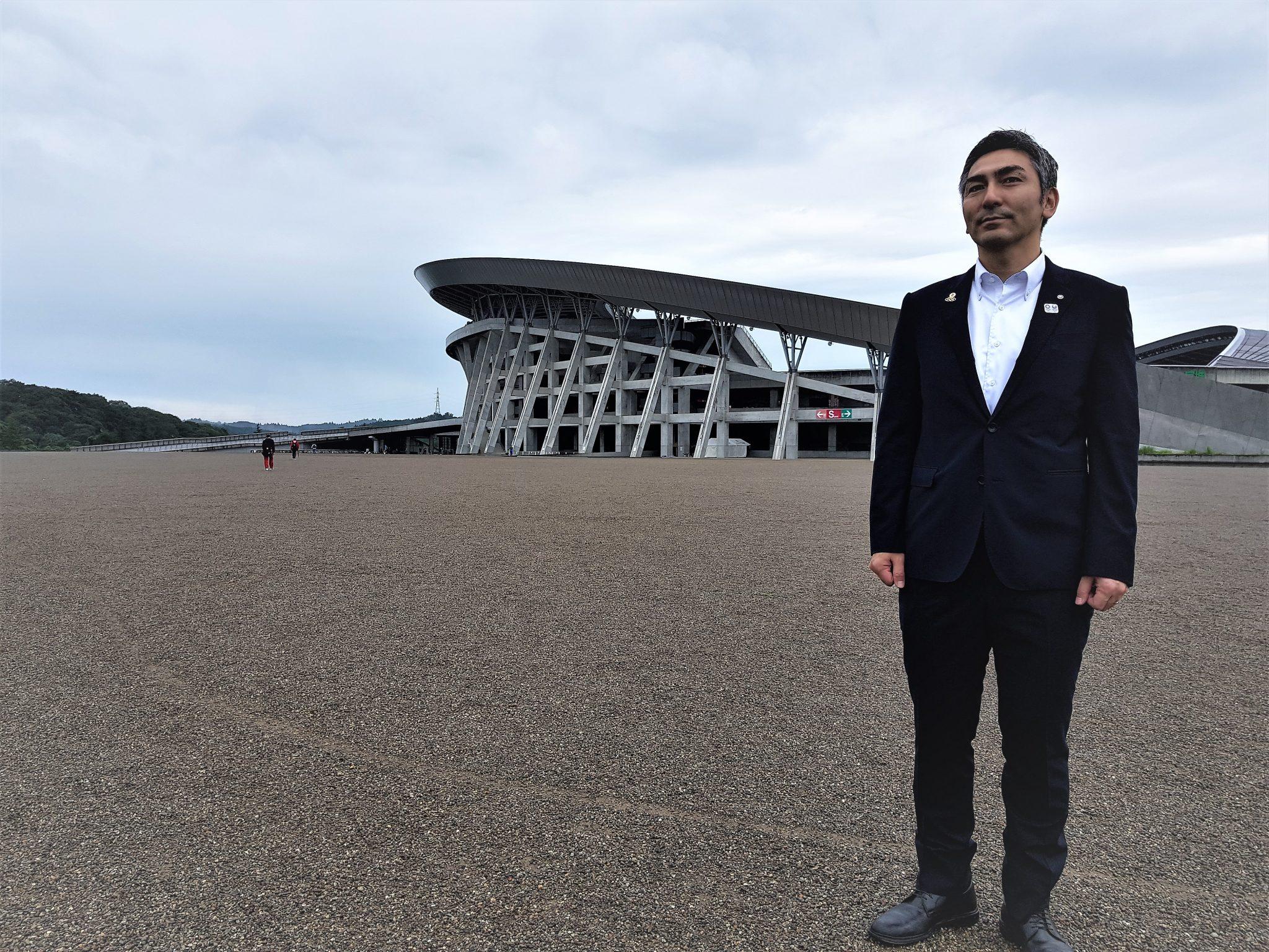 The Mayor of rufu town, Yutuka Kumagai