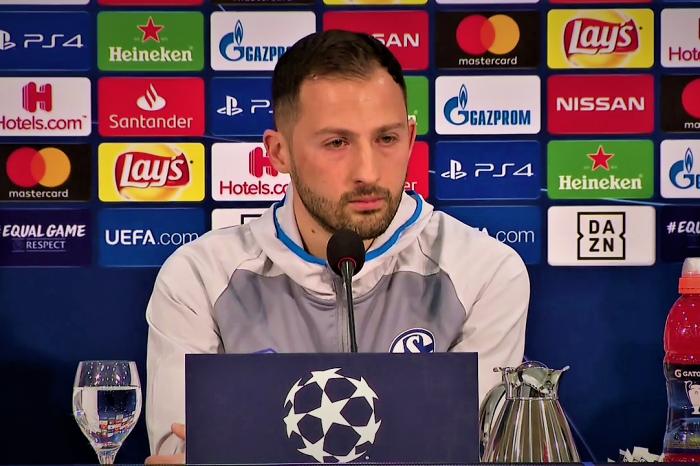 Champions League: We Don't Fear Man City but we are a little nervous- Schalke 04 Manager Domenico Tedesco