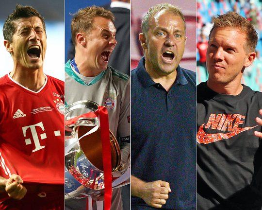 No Messi and Ronaldo as Robert Lewandowski, Manuel Neuer, Hansi Flick and Julian Nagelsmann are nominated for UEFA's top awards