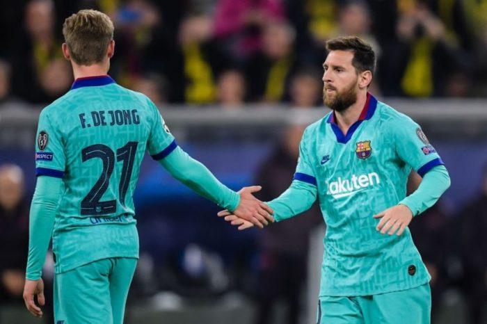 Messi, De Jong rested for Dynamo Kiev clash