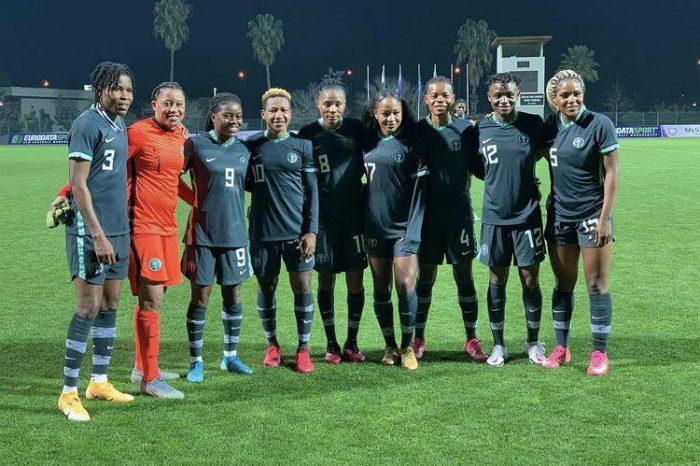 Super Falcons beat Uzbekistan to maintain perfect start at Antalya Gold Cup