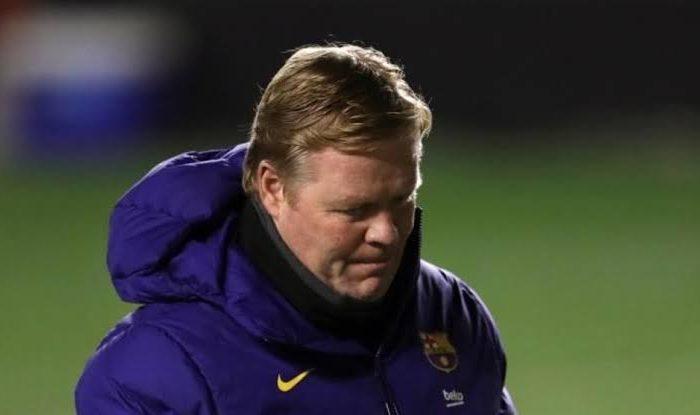 I feel responsible for Barcelona's recent form - Ronald Koeman