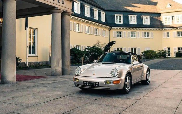 Diego Maradona's rare 1992 Porsche put up for auction