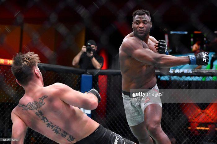 Cameroon's Francis Ngannou captures UFC heavyweight title at UFC260
