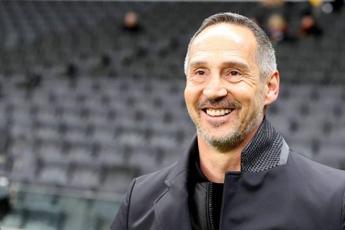 Adi Hütter to take over Borussia Monchengladbach from next season