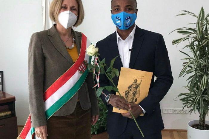 Hungary Based Nigerian Player George Ikenne Bags Hungarian Passport