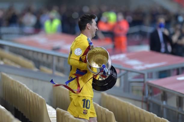 Laporta confident Messi will stay after Copa Del Rey triumph