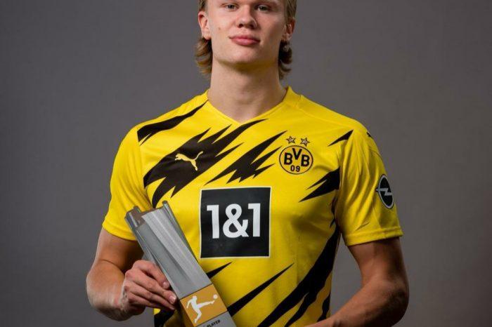 Erling Haaland Voted Bundesliga Player Of The Season