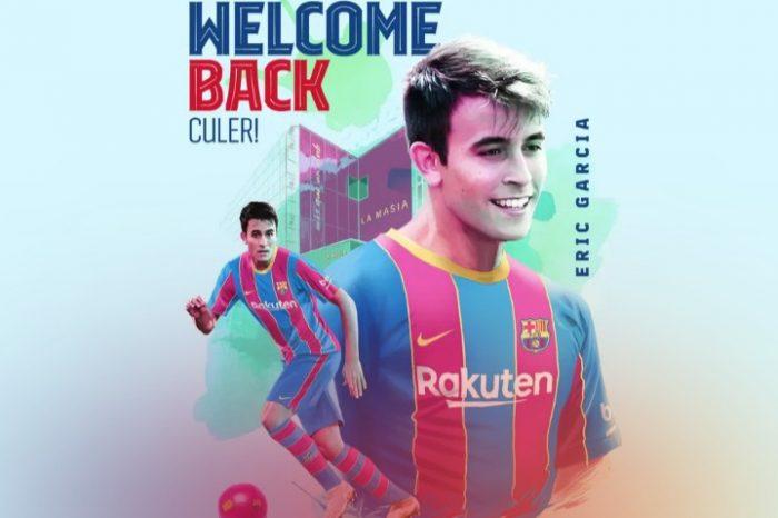Official: Eric Garcia Returns To Barcelona