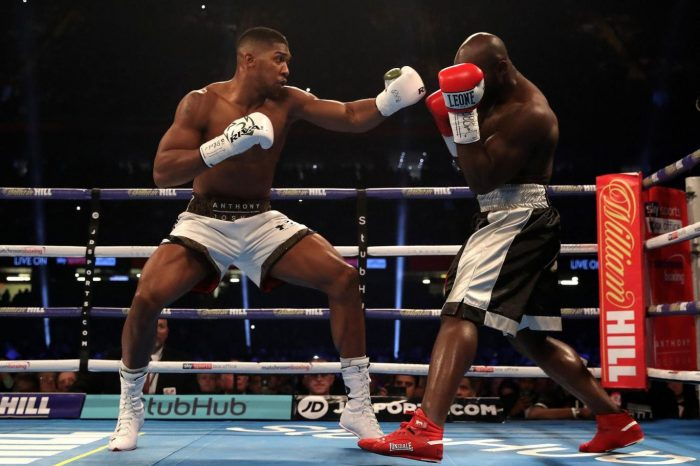 Guts, the Real Deal as Anthony Joshua defeats Carlos Takam to defend his IBF and WBA heavyweight world titles