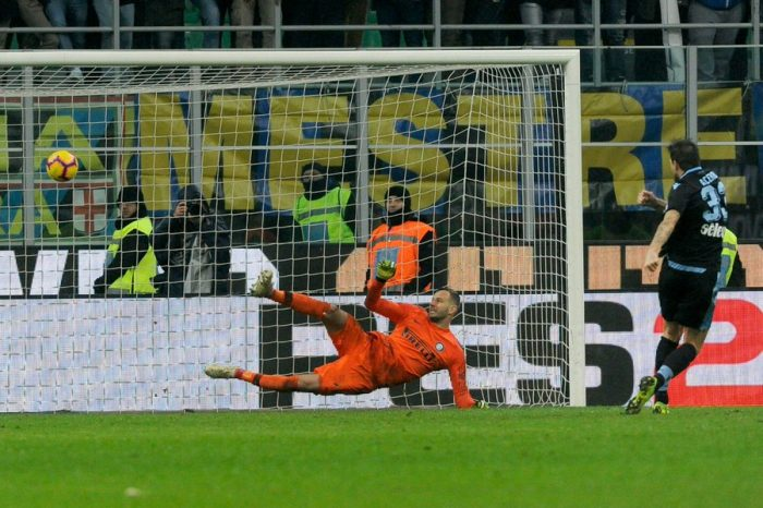 Lazio reach Coppa Italia semi-finals after beating Inter Milan on Penalties.