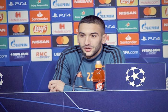 Realistically, I Can't Win The African Player Of The Year Award - Ziyech