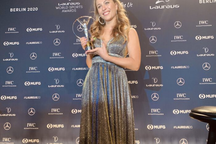 'The Comeback Of The Year' : How Sophia Flörsch Rose From Ruins To Win Laureus Award 2020.