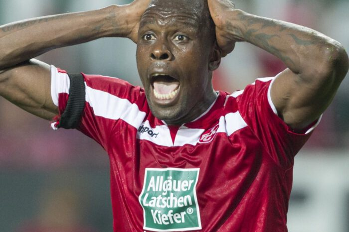 From Bundesliga To The Streets - Troubled Ex-Cameroonian Star Thrown Out Of Apartment