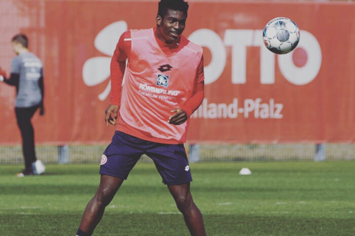 Taiwo Awoniyi Discusses Social Distancing, How He Feels As German Clubs Resume Training
