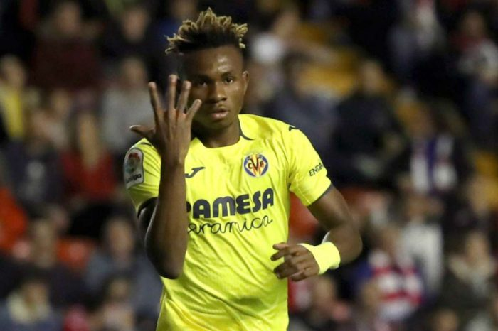 Time for Samuel Chukwueze to step up
