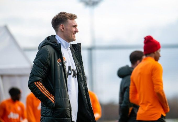 He has the United DNA, says Solskjær on Fletcher who joins United's coaching staff