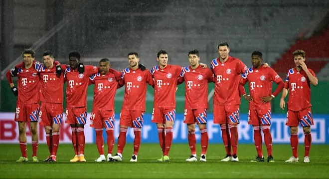 Bayern Munich knocked out of DFB Pokal by second division club