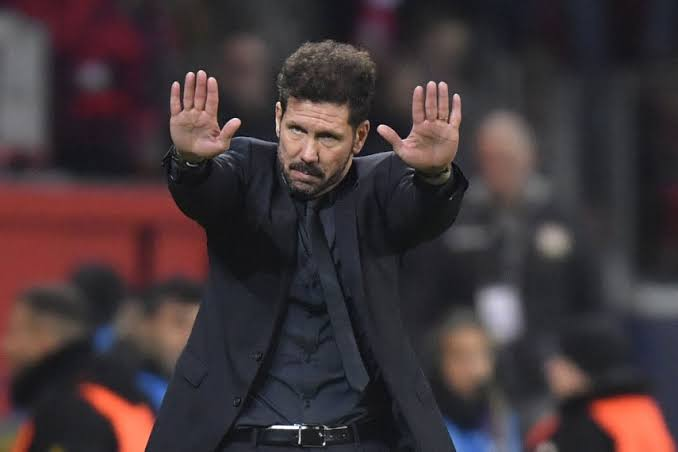 Simeone not overly concerned by high cases of Covid-19 at Atletico