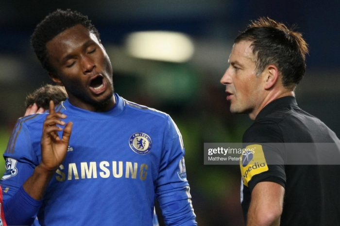 No Apologies To Clattenburg In Racism Row: Mikel's Angriest Day In Blue