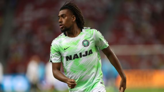 Alex Iwobi misses Benin match due to positive Covid-19 result