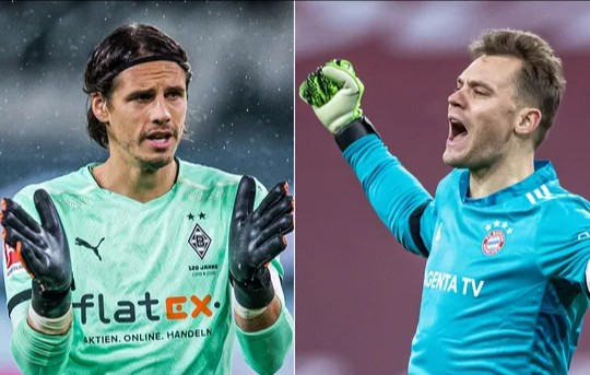 Consistency Makes Neuer The Best Goalkeeper In The World, Says Gladbach's Yann Sommer