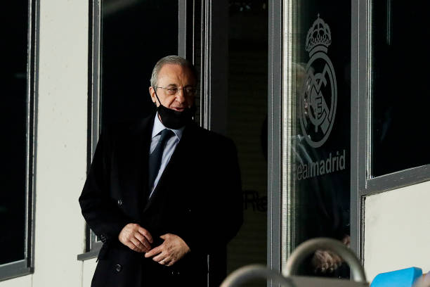 Florentino Perez re-elected Real Madrid president unopposed