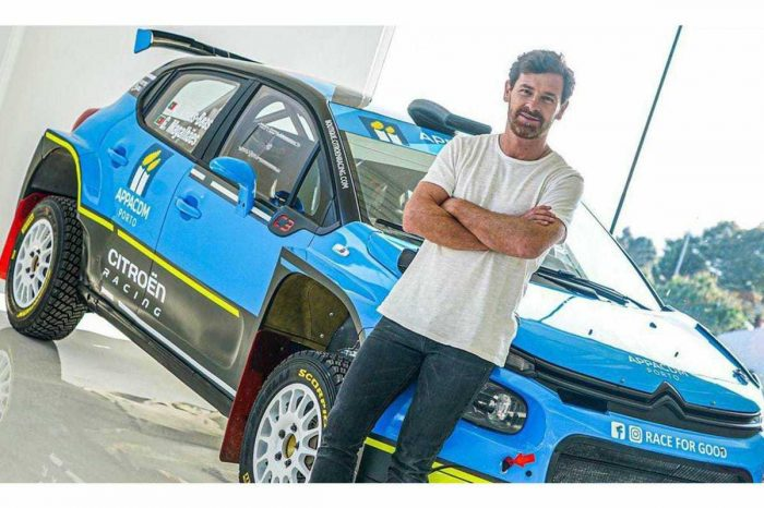 Villas-Boas To Race At The World Rally Championship In Portugal