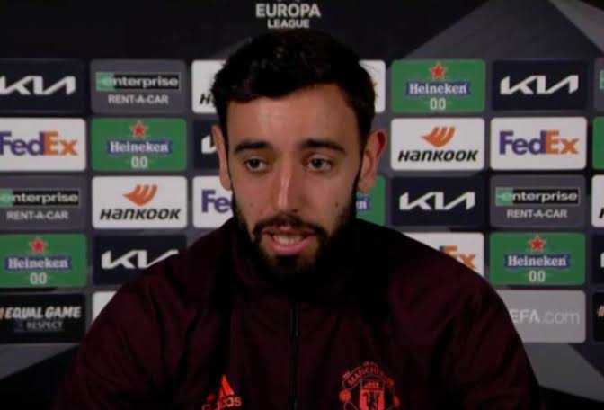 Winning Europa League not enough for Man Utd, Says Bruno Fernandes