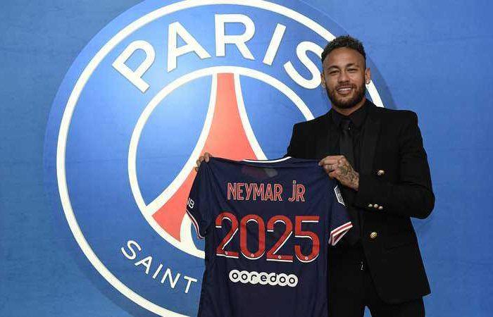 Neymar Jr. Extends Psg Contract Until 2025