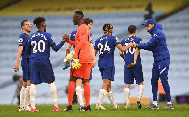 Aguero Combines With Chelsea To Delay City's Premier League Title Party