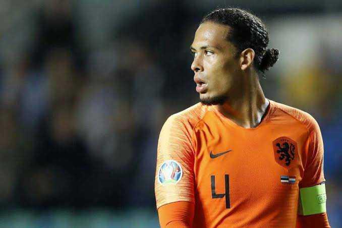Van Dijk Rules Himself Out Of Netherlands Squad For Euro 2020